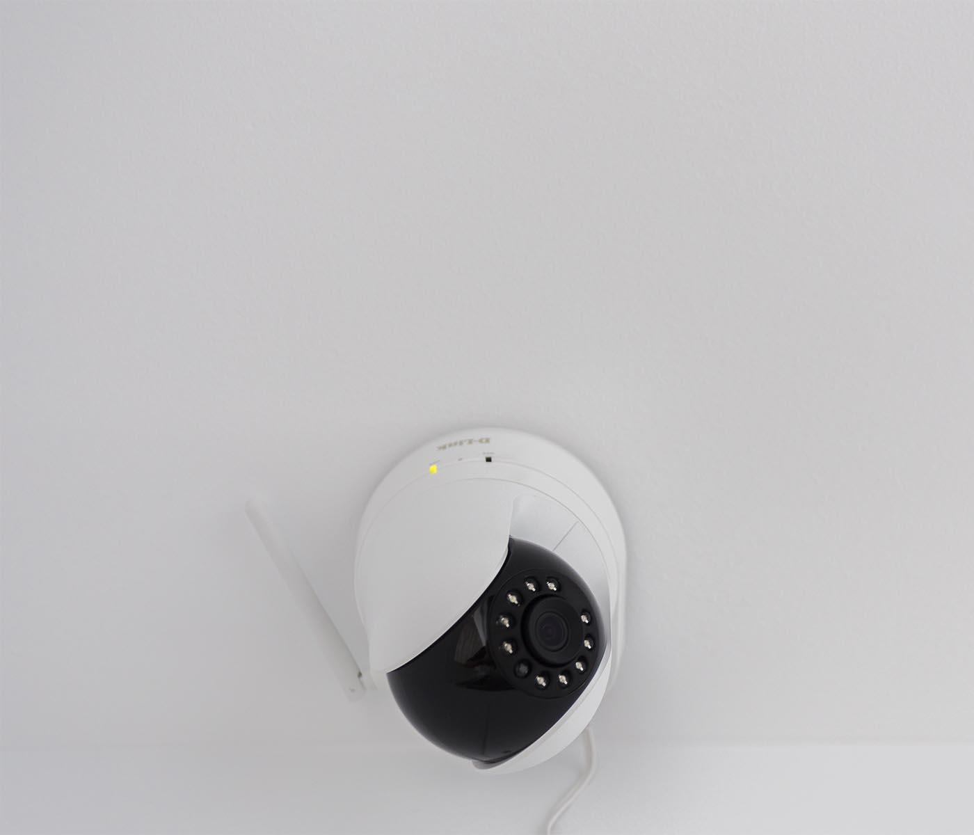 Càmera de seguretat, domòtica.